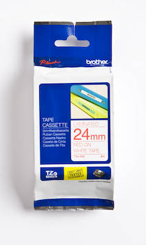 Tarranauha BROTHER 24mm TZE-252 - Tarranauhat Brother - 109972 - 1