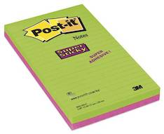 Viestilappu 125x200mm POST IT SuperStick - Viestilaput ja telineet - 118235 - 1