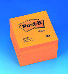 Viestilappu 76x76mm POST IT - Viestilaput ja telineet - 117556 - 1