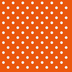 Lautasliina 25x25cm dots orange fsc mix - Servietit ja lautasliinat - 143828 - 1