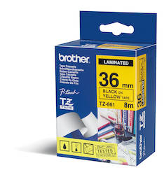 Tarranauha BROTHER 36mm TZE-661 - Tarranauhat Brother - 109979 - 1