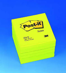 Viestilappu 76x76mm POST IT - Viestilaput ja telineet - 102039 - 1