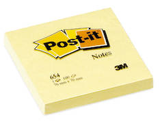 Viestilappu 76x76mm POST IT - Viestilaput ja telineet - 102029 - 1